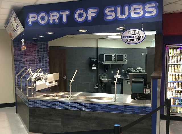 New Port of Subs in the Gold Ranch Casino