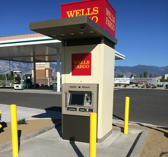 New ATM for Wells Fargo in Gardnerville, NV